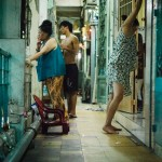 Ho- Chi- Minh city, city district, at night, inhabitants, aim-frame photography